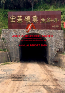 AJY 2020 Annual Report